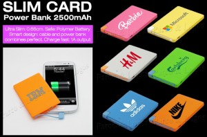 Slim Card Powerbank